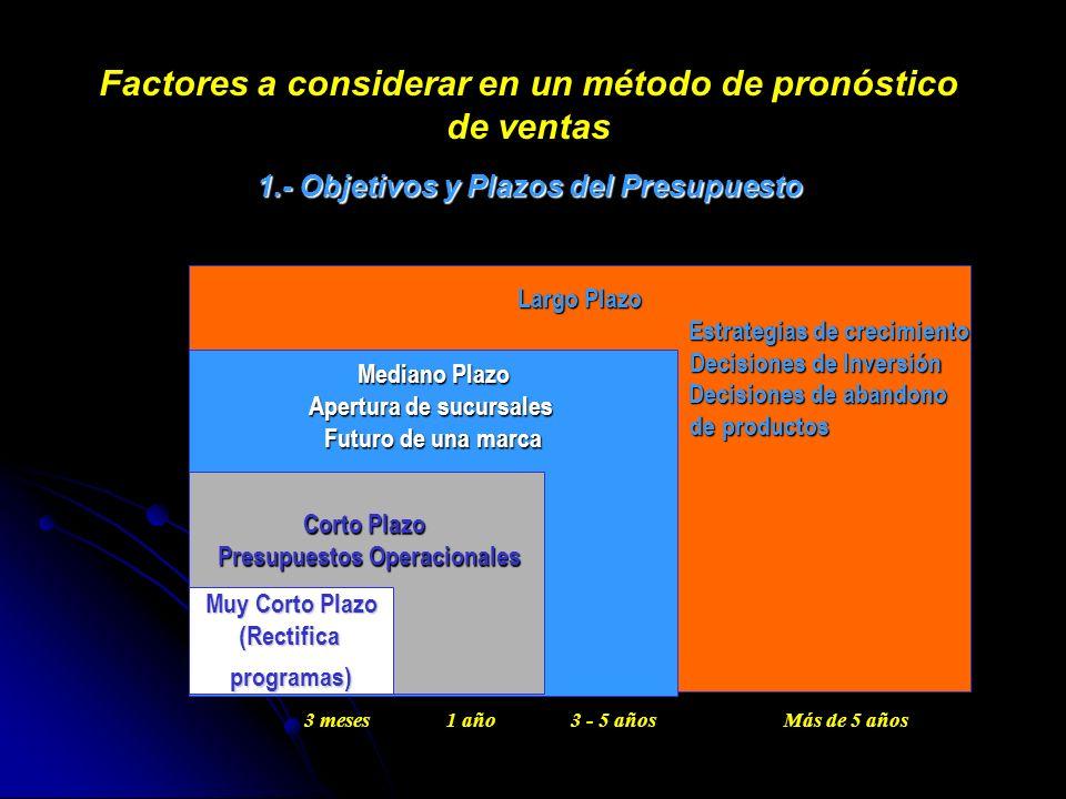 Largo Plazo Estrategias de crecimiento Estrategias de crecimiento Decisiones de Inversión Decisiones de Inversión Decisiones de abandono Decisiones de