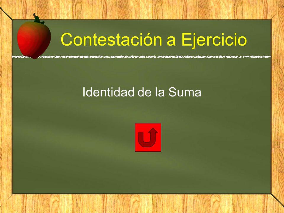 Contestación a Ejercicio Identidad de la Suma