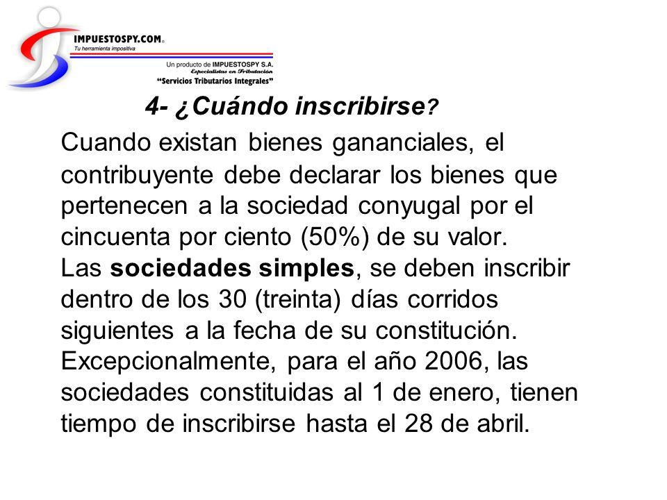 Cuando existan bienes gananciales, el contribuyente debe declarar los bienes que pertenecen a la sociedad conyugal por el cincuenta por ciento (50%) d