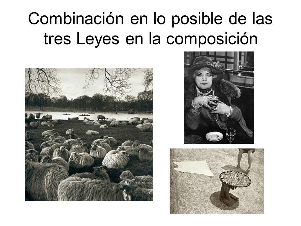 Combinación en lo posible de las tres Leyes en la composición