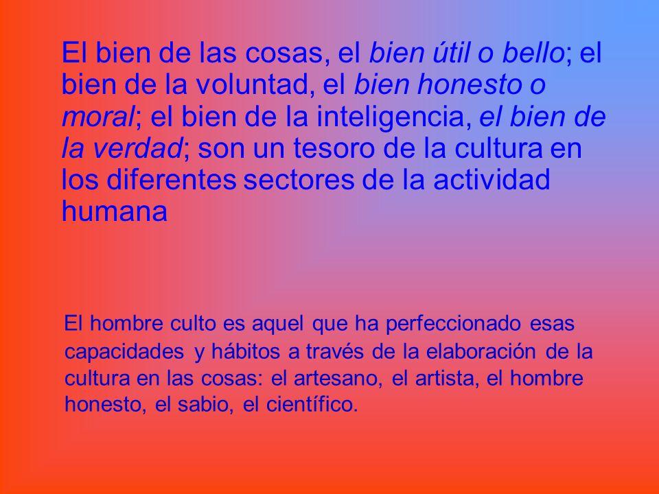Organización jerárquica de la cultura y de sus bienes ¿Todos tienen el mismo valor.