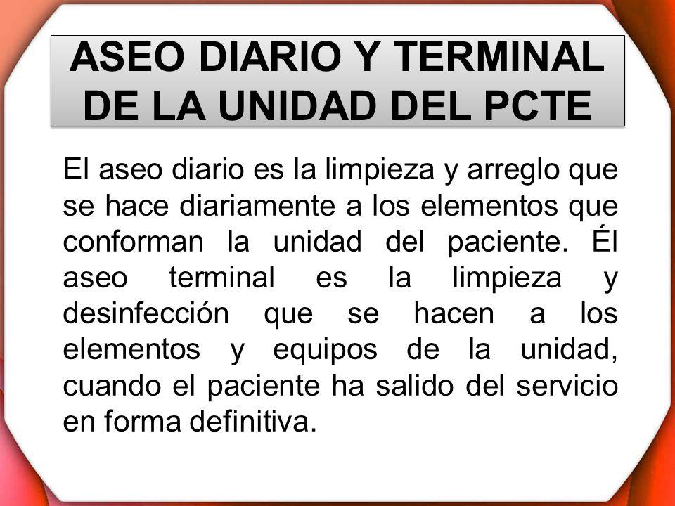 Baño General En Cama Al Paciente: seguridad al paciente actual y al que ingresará al servicio