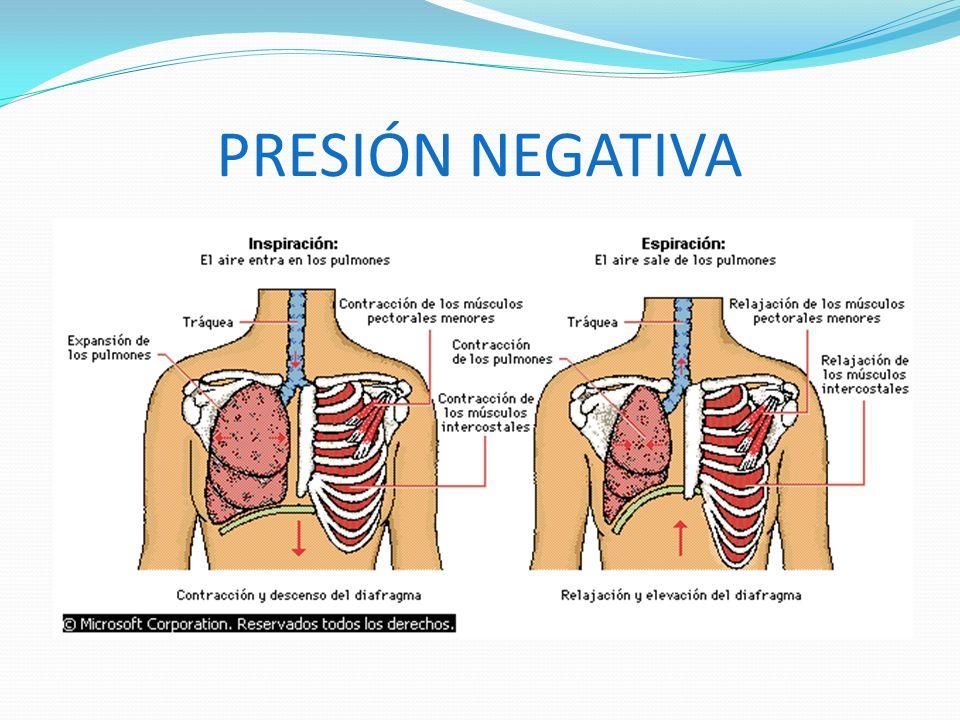 Volutrauma: Daño pulmonar inducido por sobredistensión pulmonar (volumen circulante excesivo) Efectos respiratorios: barotrauma- volutrauma
