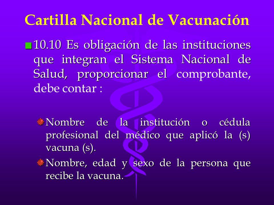 Domicilio de la persona.Nombre de la vacuna aplicada.