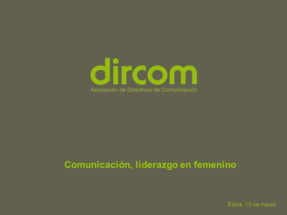 Comunicación, liderazgo en femenino Elche, 13 de marzo