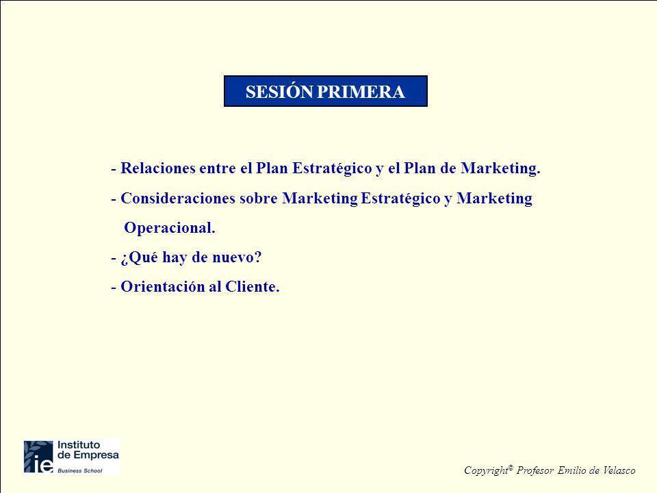 - Los productos industriales y el marketing.