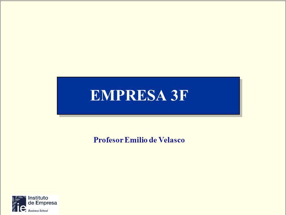 EMPRESA 3F Profesor Emilio de Velasco
