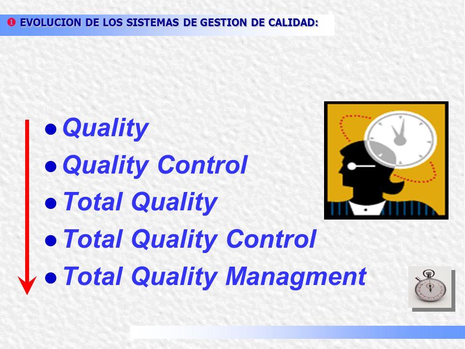 TÉRMINOS RELATIVOS A LA CALIDAD: Calidad: grado en el que un conjunto de características inherentes cumple con los requisitos. Calidad: grado en el qu