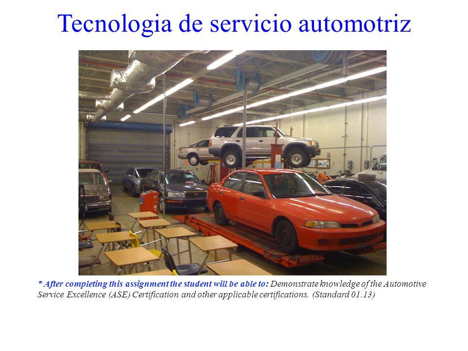 La reparación del automóvil ha recorrido un largo camino...