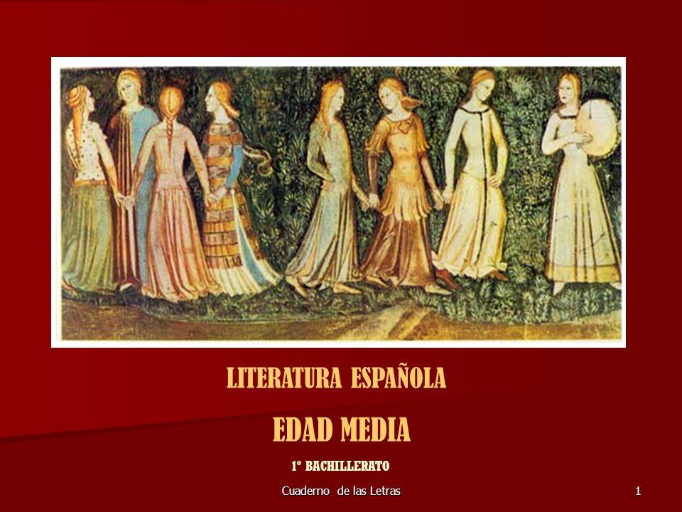 Cuaderno de las Letras92 POESÍA SATÍRICA COPLAS DEL PROVINCIAL: el fingido Provincial de un convento escarnece a los más ilustres de la corte de Enrique IV de Castilla.