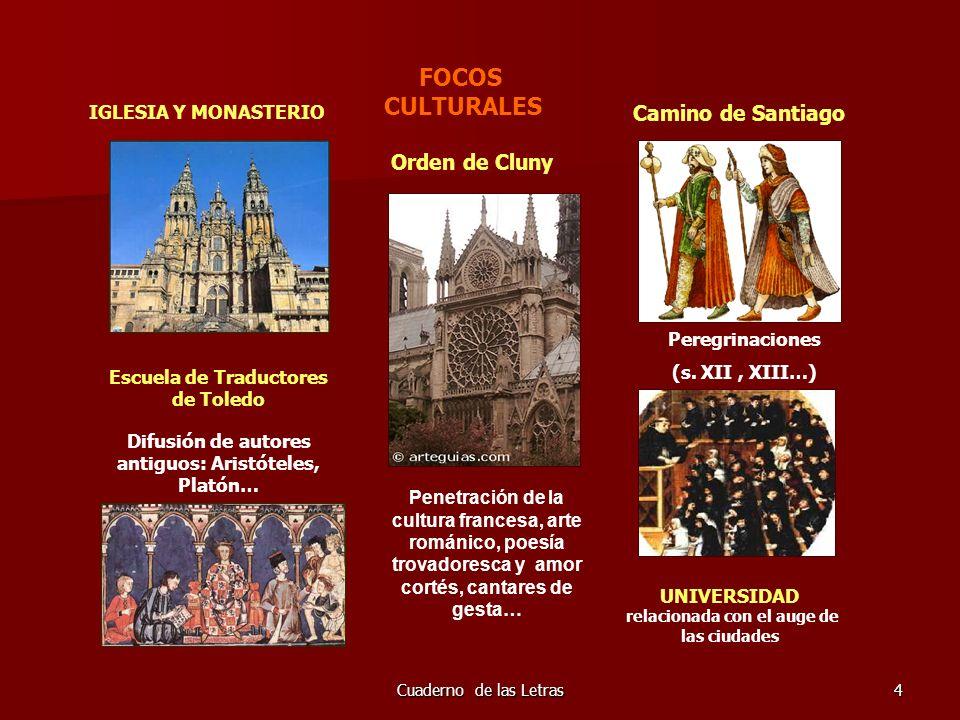 Cuaderno de las Letras105 LA PROSA MEDIEVAL La prosa en lengua romance se desarrolla desde la segunda mitad del siglo XIII.