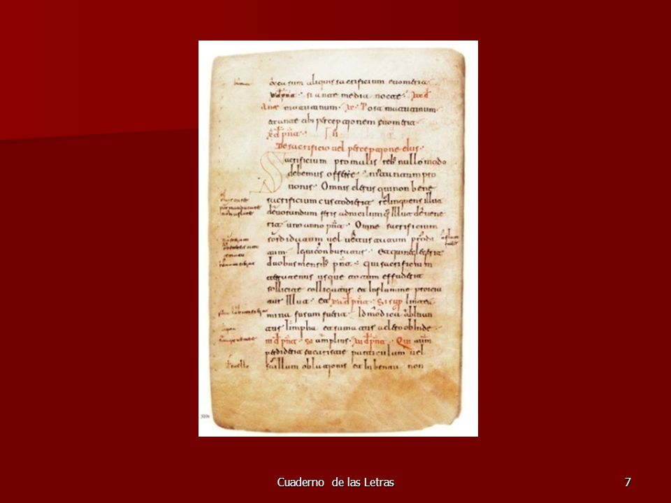 Cuaderno de las Letras68 Manuscrito del LBA