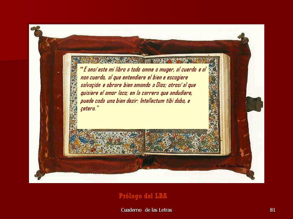 Cuaderno de las Letras81 otrosí