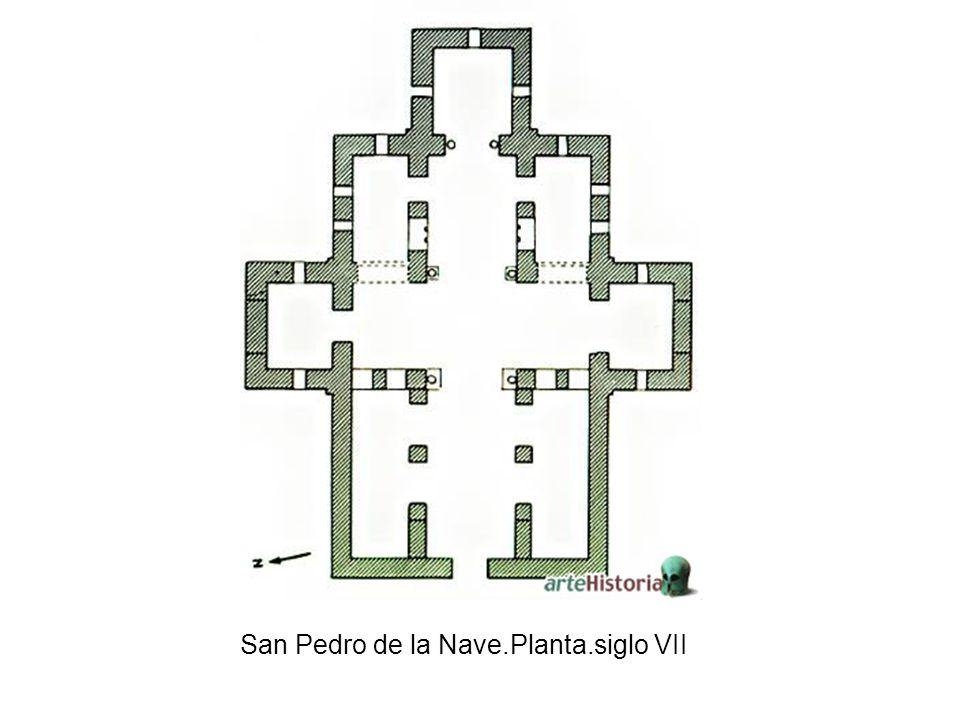 San Pedro de la Nave.Planta.siglo VII