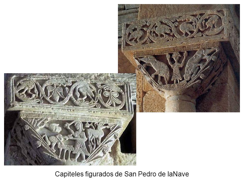Capiteles figurados de San Pedro de laNave