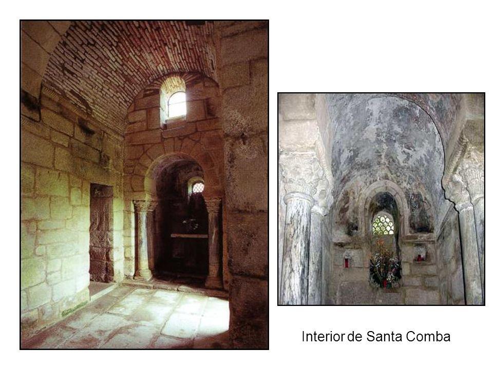 Interior de Santa Comba