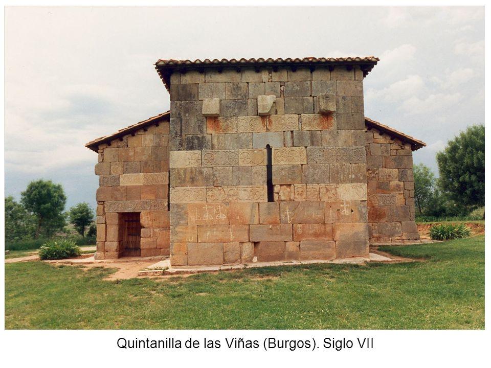 Quintanilla de las Viñas (Burgos). Siglo VII