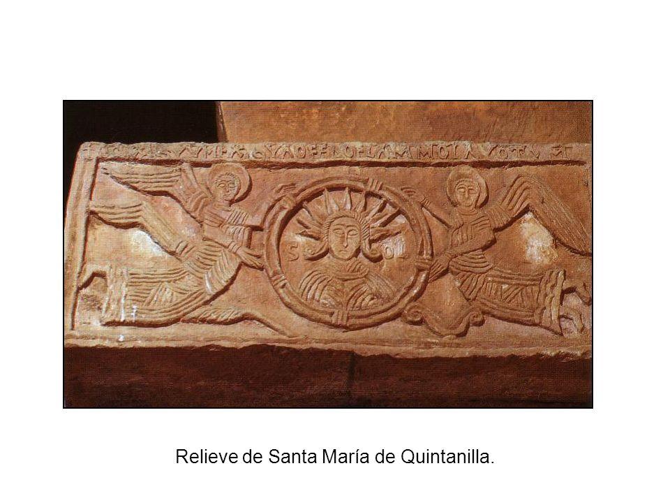 Relieve de Santa María de Quintanilla.