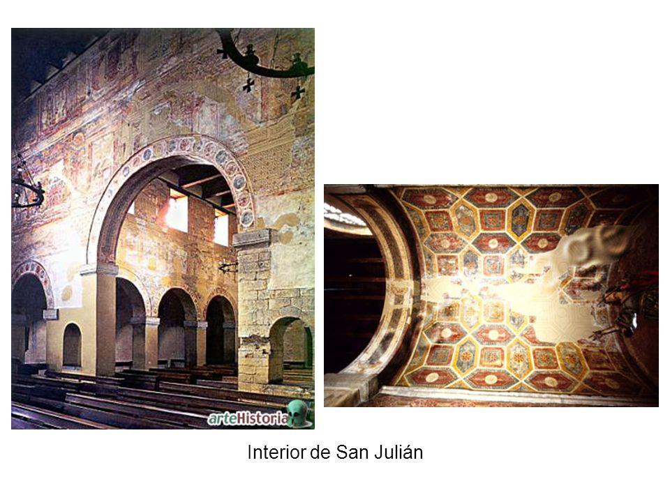 Interior de San Julián