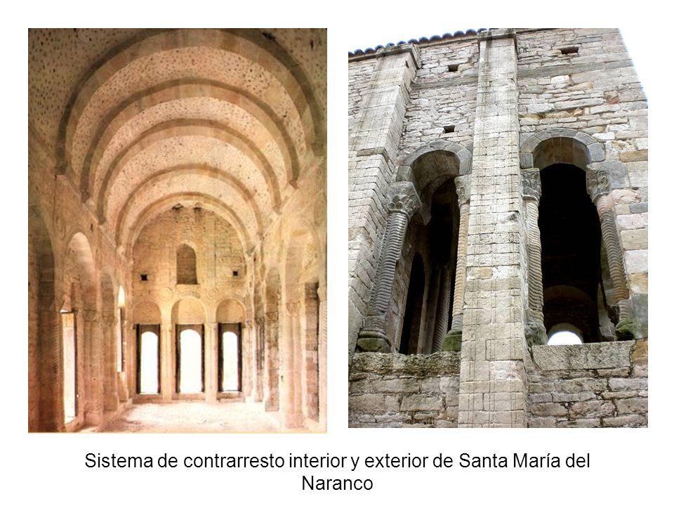 Sistema de contrarresto interior y exterior de Santa María del Naranco
