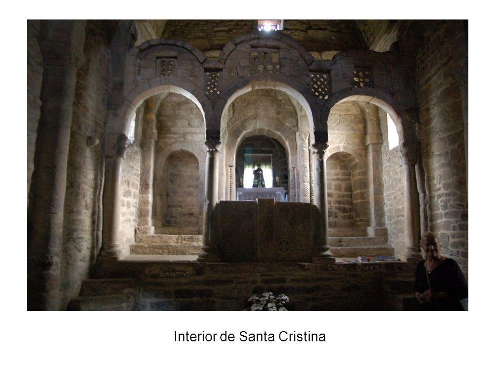 Interior de Santa Cristina