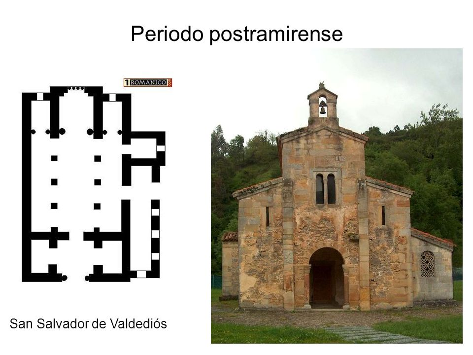 Periodo postramirense San Salvador de Valdediós