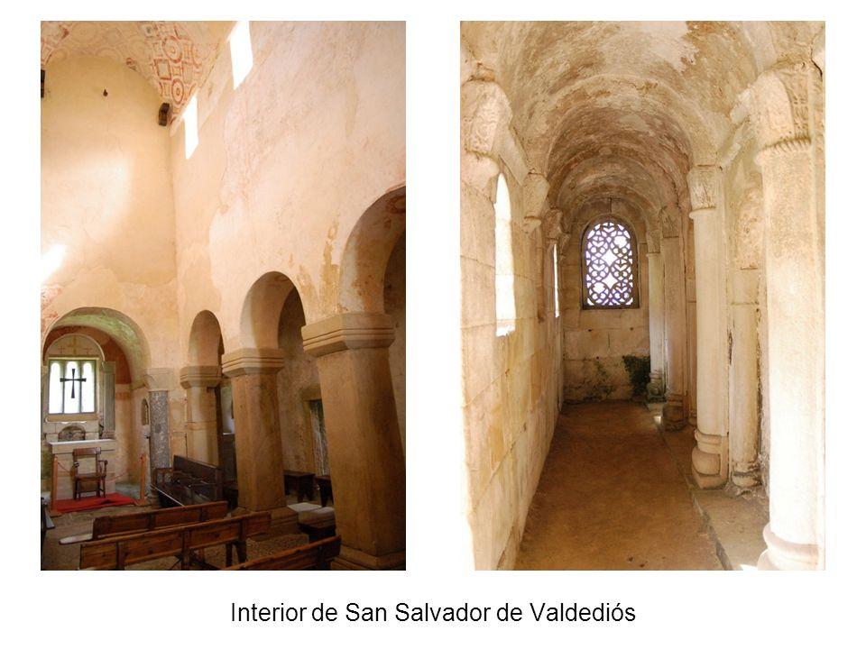 Interior de San Salvador de Valdediós