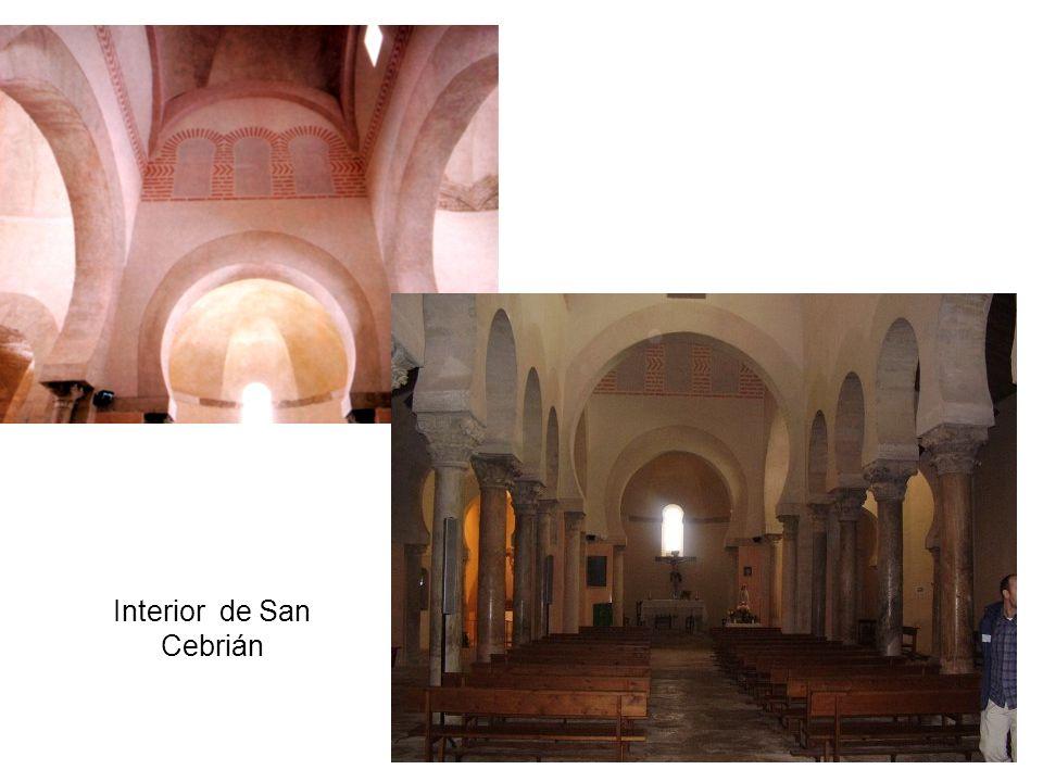 Interior de San Cebrián