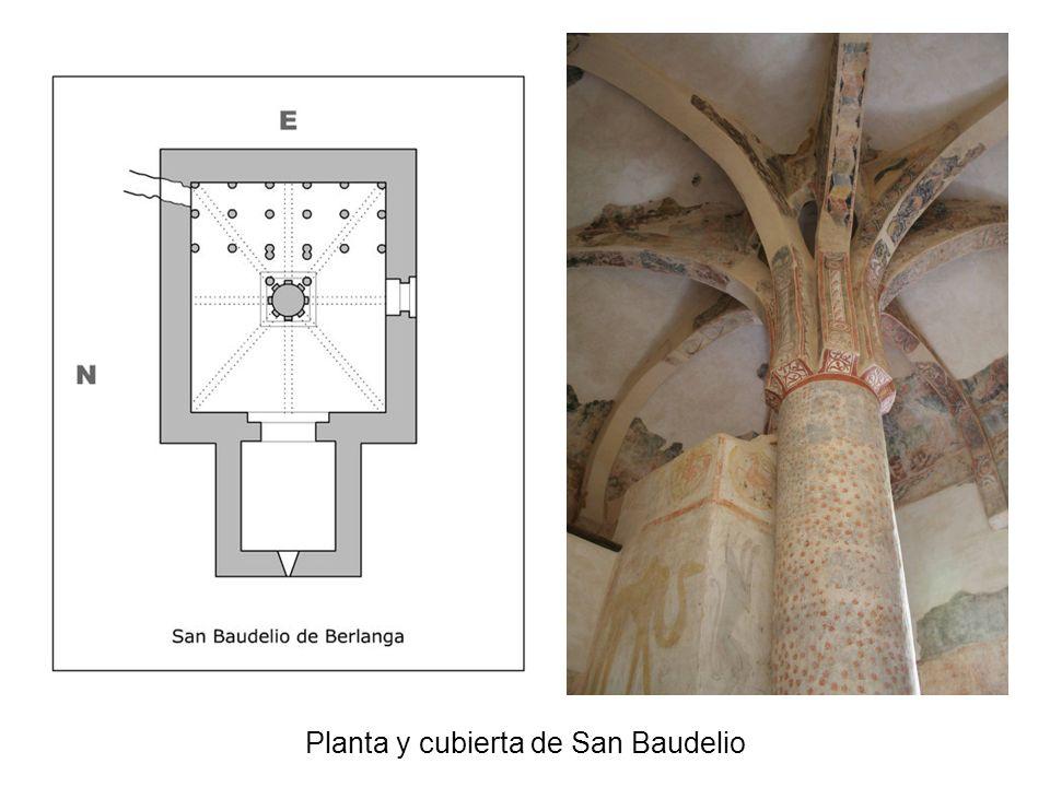 Planta y cubierta de San Baudelio