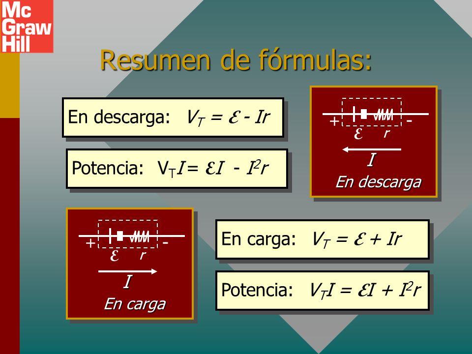 Ejemplo 7. Un voltímetro tiene una resistencia interna de 5 y produce desviación de escala completa para 1 mA. Para leer 50 V escala completa, ¿qué re