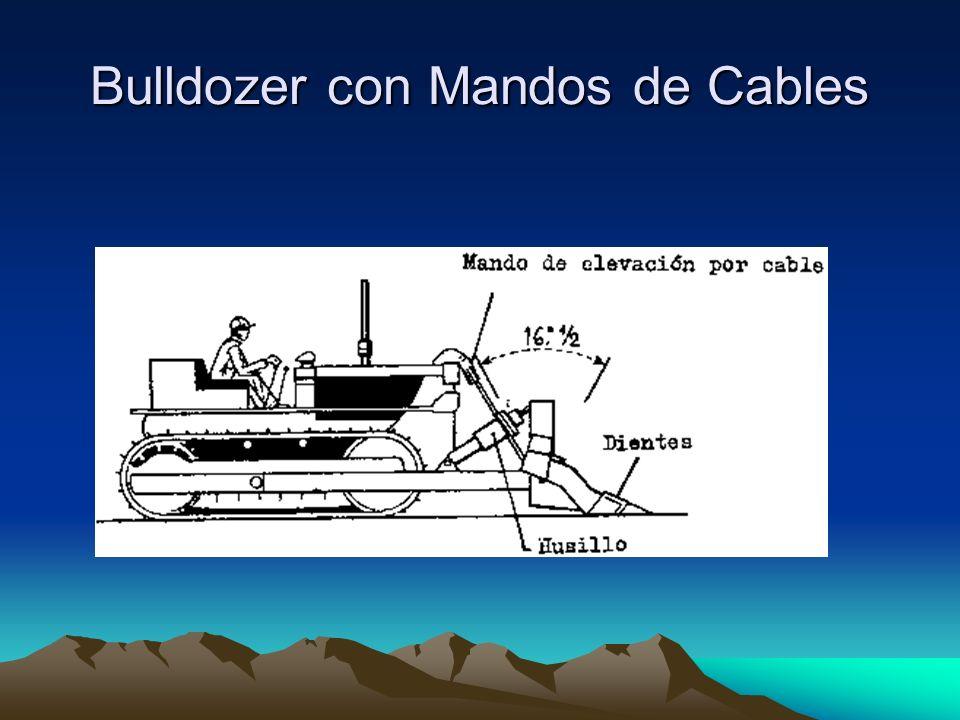 Bulldozer con Mandos de Cables