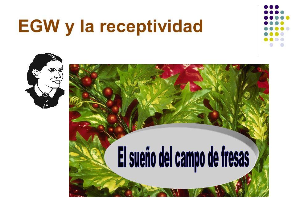 EGW y la receptividad Obreros evangélicos, 142-146