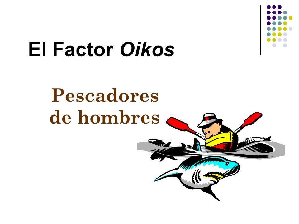 El Factor Oikos Familia. Socios del trabajo. Amigos. Vecinos. Conocidos