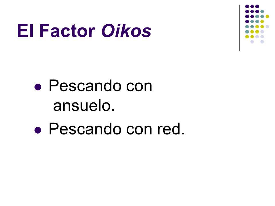 El Factor Oikos Pescadores de hombres
