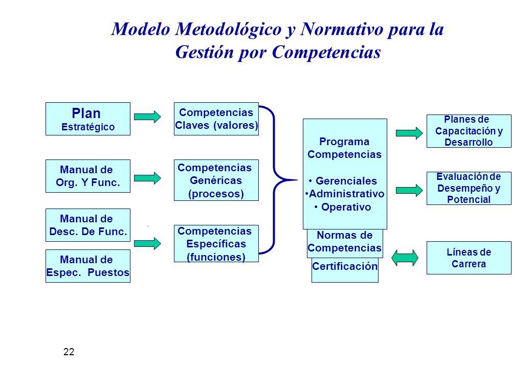 Certificación Normas de Competencias Manual de Org.