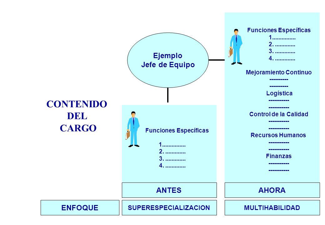 CONTENIDO DEL CARGO Funciones Específicas 1...............