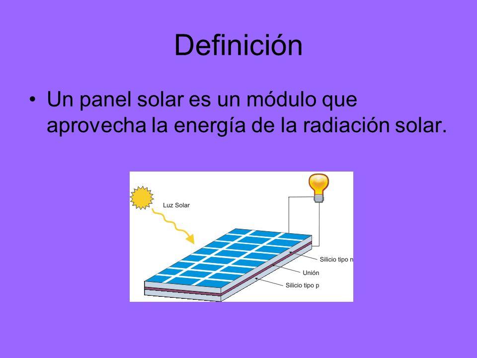 Paneles fotovoltaicos Los paneles solares normalmente se refieren a dispositivos que calientan agua mediante la exposición a la radiación solar, pero en esta presentación se analizaran los paneles fotovoltaicos.