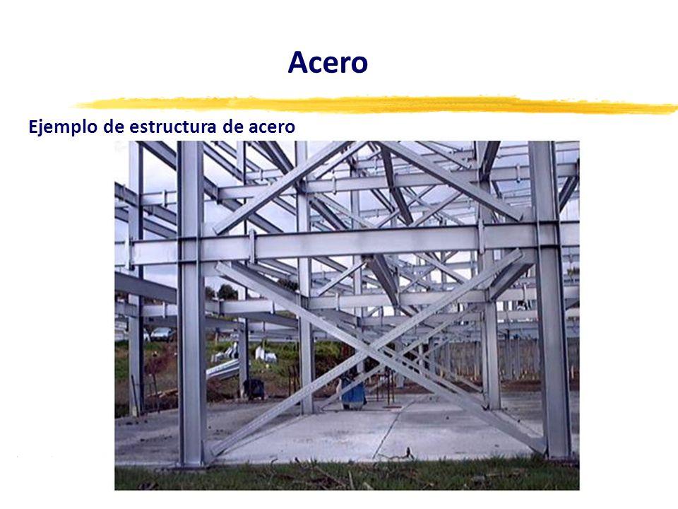 Ejemplo de estructura de acero Acero