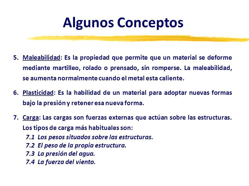 5.Maleabilidad: Es la propiedad que permite que un material se deforme mediante martilleo, rolado o prensado, sin romperse. La maleabilidad, se aument