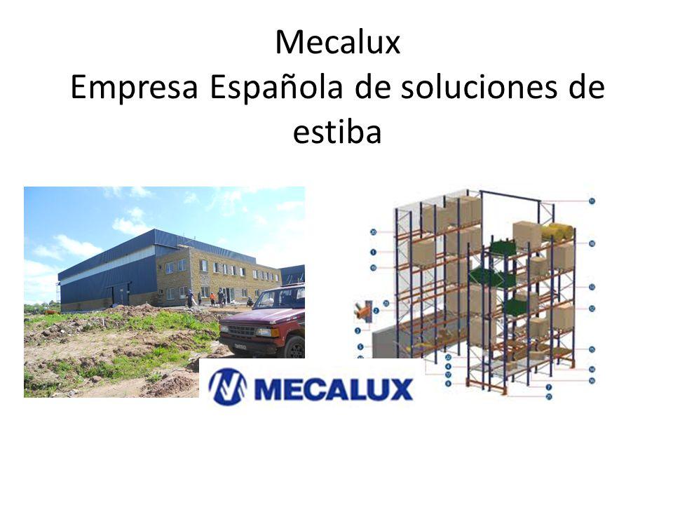 Mecalux Empresa Española de soluciones de estiba