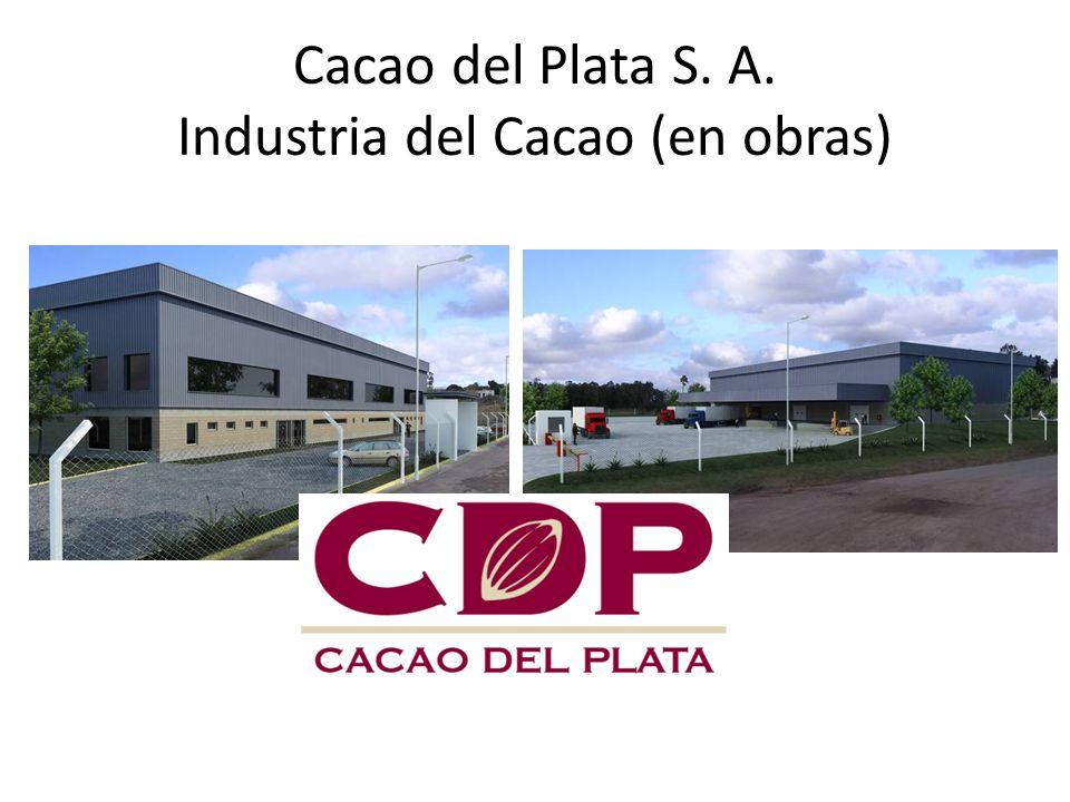 Cacao del Plata S. A. Industria del Cacao (en obras)