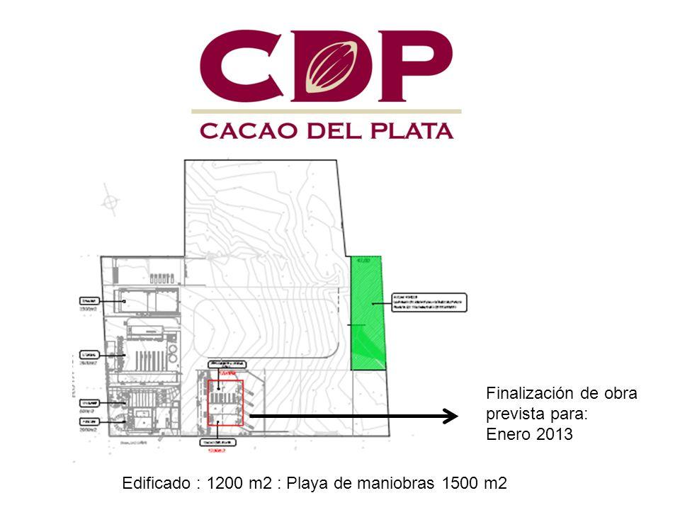 Finalización de obra prevista para: Enero 2013 Edificado : 1200 m2 : Playa de maniobras 1500 m2