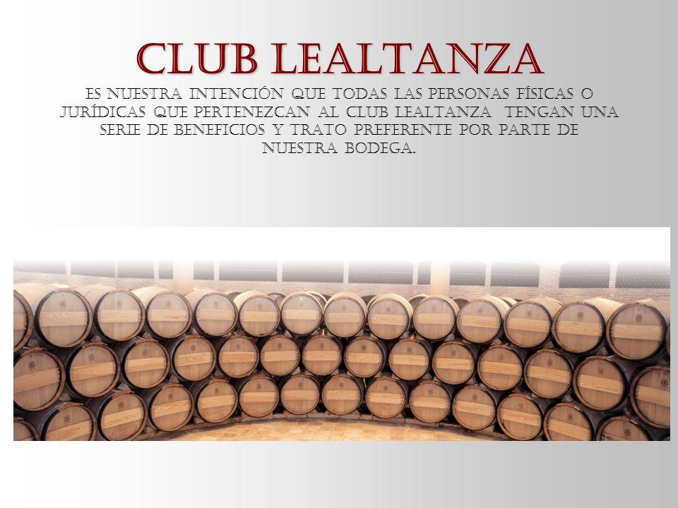 Club Lealtanza Club Lealtanza Es nuestra intención que todas las personas físicas o jurídicas que pertenezcan al CLUB LEALTANZA tengan una serie de be