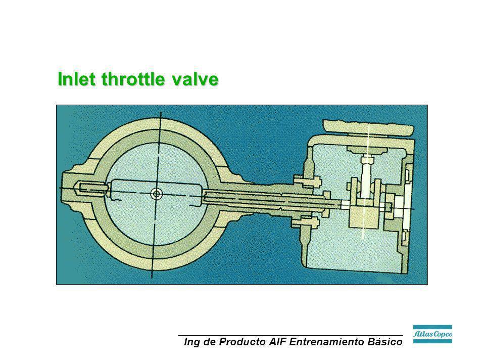 Ing de Producto AIF Entrenamiento Básico Inlet throttle valve