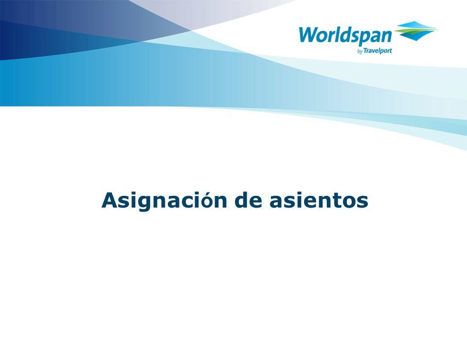 2 Objetivos Este curso está diseñado para los agentes de viajes que necesitan aprender a asignar asientos.