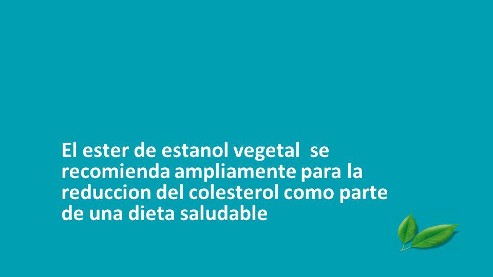 Musa-Veloso et al. Prostag Leukotrien Ess Fatty Acids 2011. Mejor eficacia maxima Significativamente mejor eficacia maxima con éster de estanol vegeta
