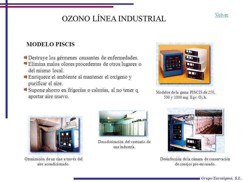 TD-Z A GENERADORES DE OZONO Ozonización en circuitos de climatización.