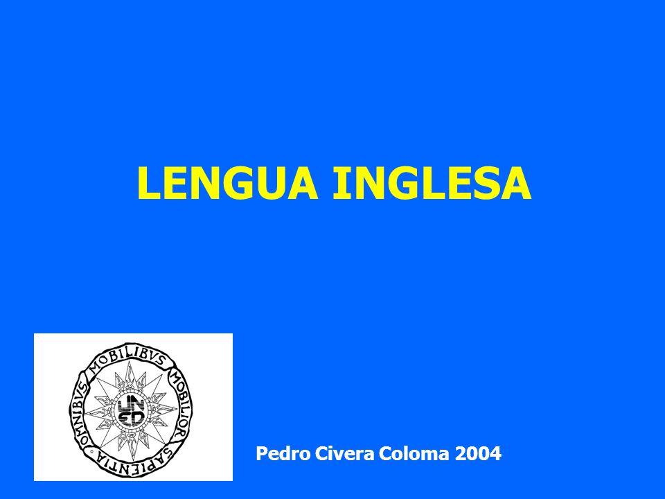 LENGUA INGLESA Pedro Civera Coloma 2004