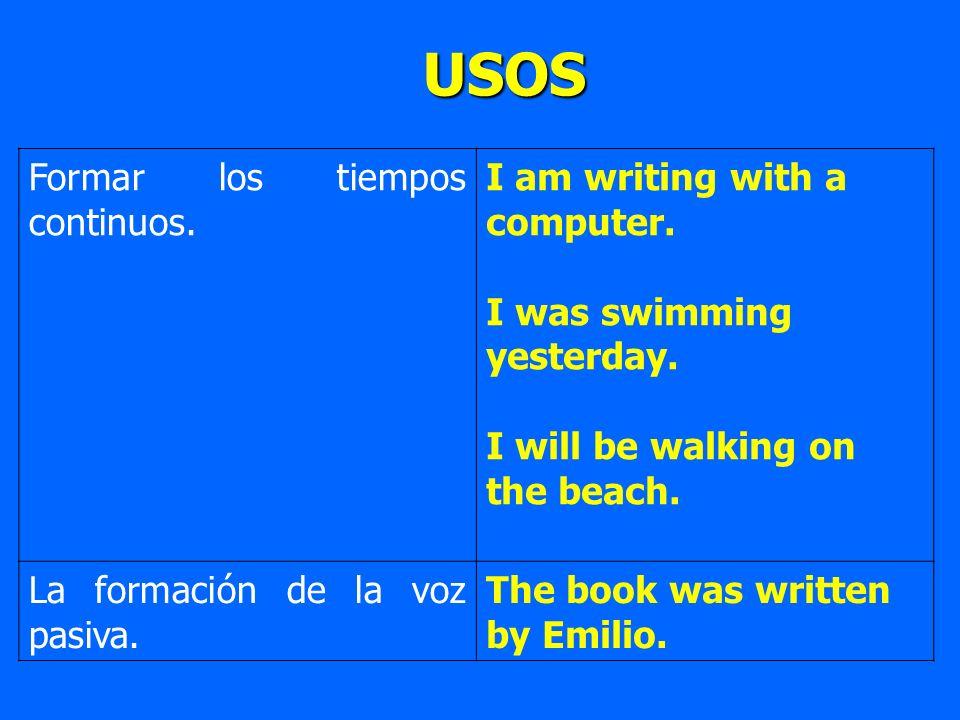 ADVERBIOS Modificando adverbios.He writes quite quickly.