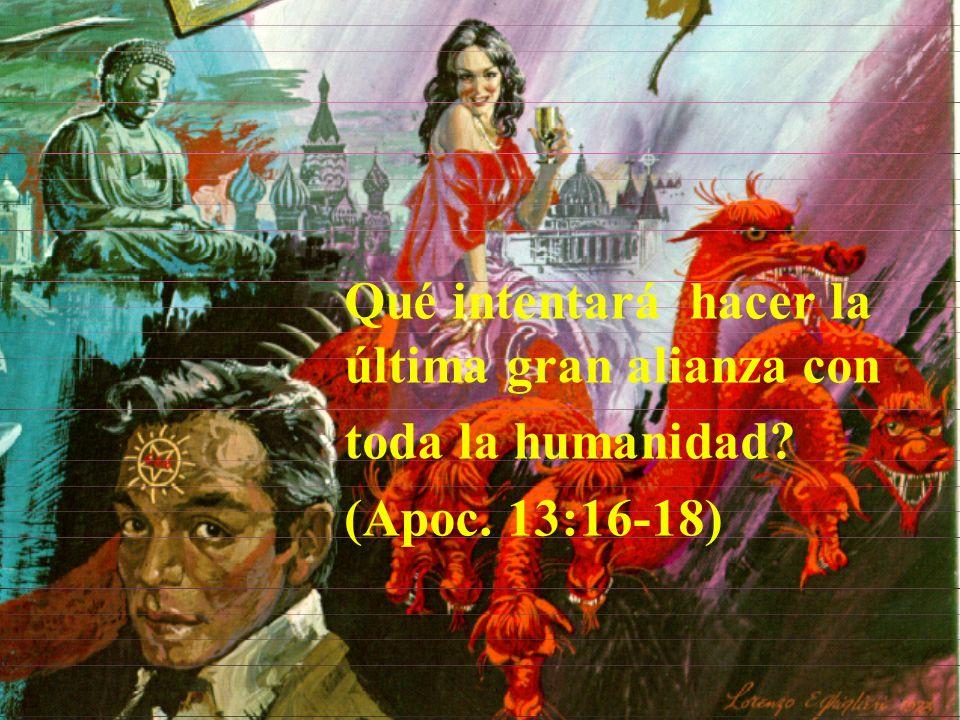 LA SANTA BIBLIA PRESENTA TEMA No. 8 LA MARCA DE LA BESTIA
